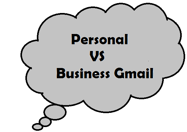Personal and Business Gmail