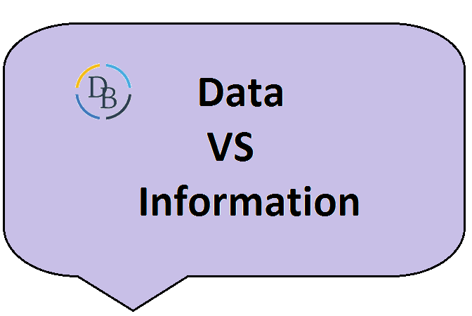difference between data vs information