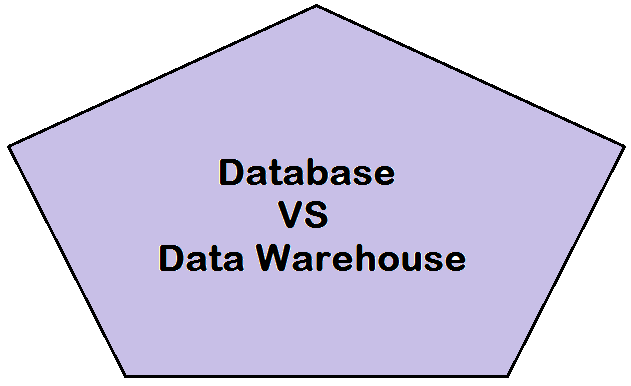 Difference Between a Database and a Data Warehouse