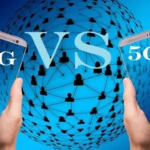 what's the difference between 4g and 5g