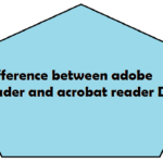 Difference between adobe reader and acrobat reader DC