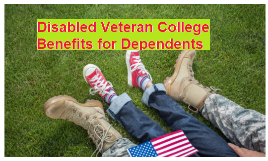 Disable Veteran College Benefits for Dependents