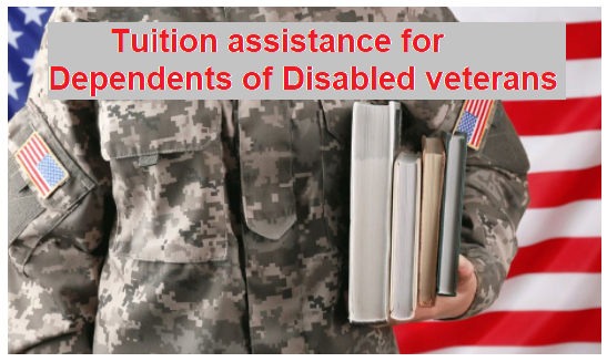 What States Offer free Tuition Assistance for Dependents of Disabled Veterans